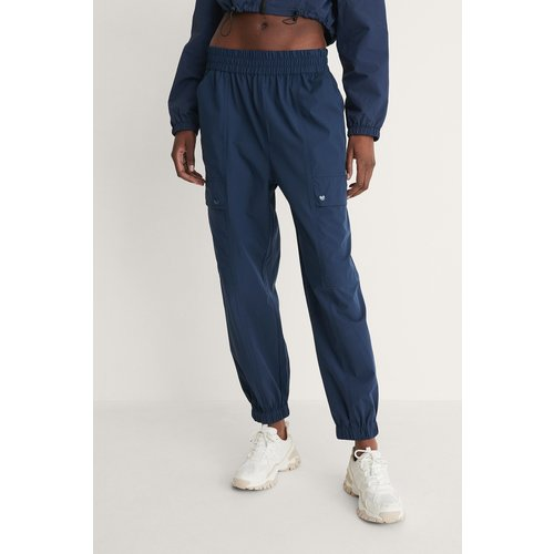 Pantalon De Jogging - Navy - NA-KD Flow - Modalova