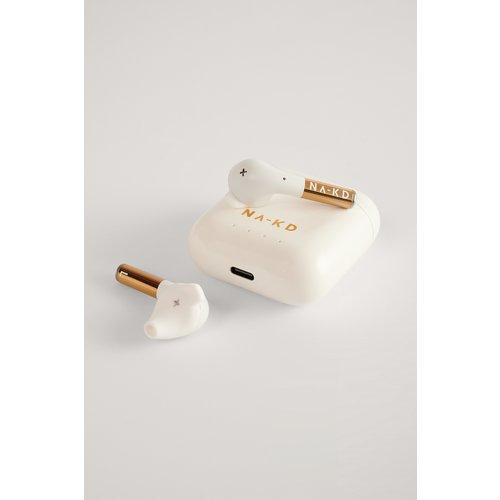 NA-KD Wireless Headphones - White - Defunc x NA-KD - Modalova