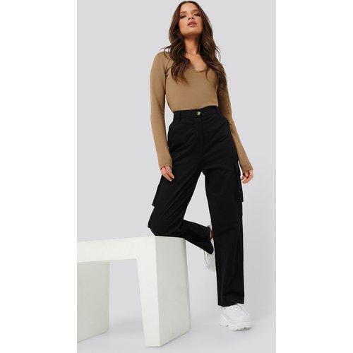 Cargo Pocket Pants - Black - Nicci Hernestig x NA-KD - Modalova
