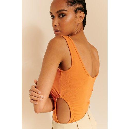 Body À Découpes - Orange - Oumayma x NA-KD - Modalova