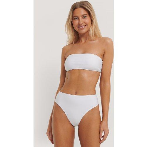 Culotte De Bikini Taille Haute - White - Paola Locatelli x NA-KD - Modalova