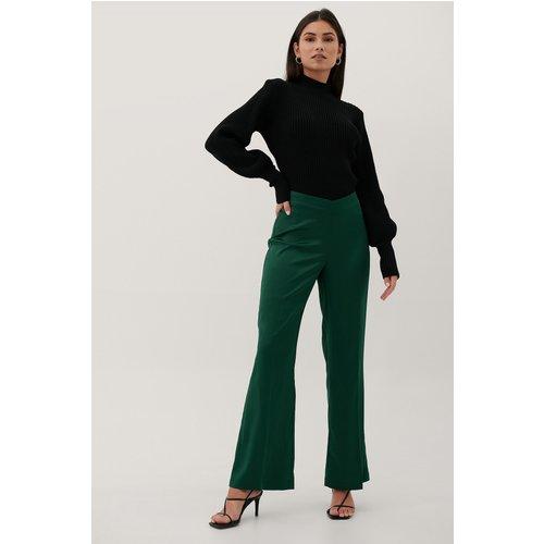Recyclé Pantalon Taille En V - Green - Paola Locatelli x NA-KD - Modalova