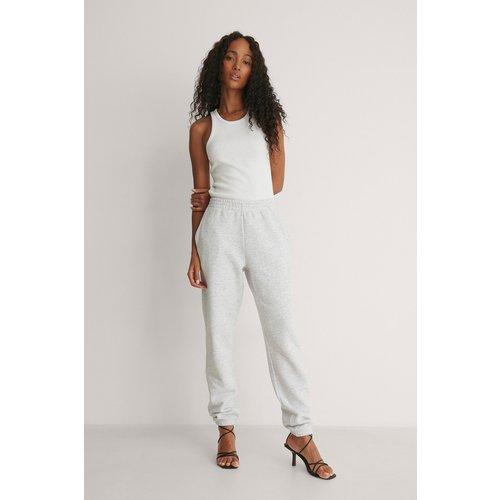 Pantalon De Survêtement Basique - Grey - Pelican Bay x NA-KD - Modalova