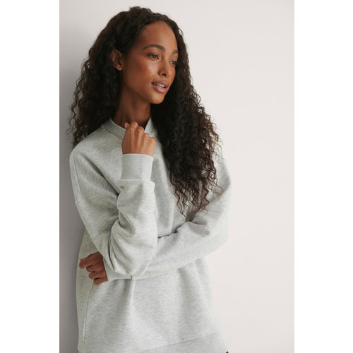 Sweatshirt Oversize - Grey - Pelican Bay x NA-KD - Modalova