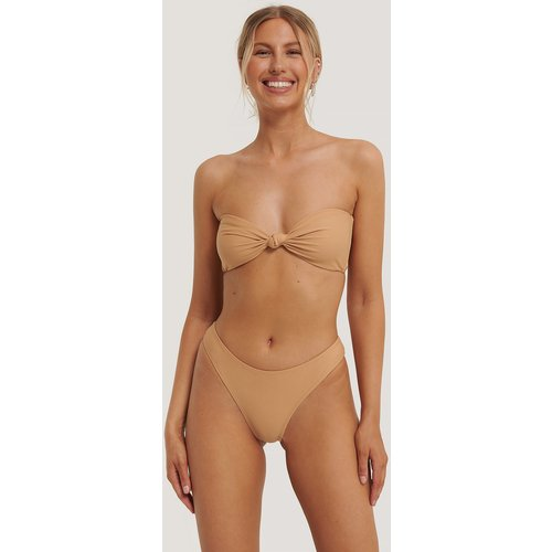 Culotte Bikini Taille Mi-Basse - Brown - Statement By NA-KD Influencers - Modalova
