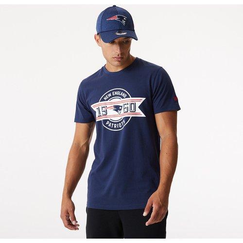 T-shirt bleu Established des New England Patriots - newera - Modalova