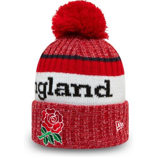 Bonnet à pomponEngland Rugby Union Wordmark, rouge - newera - Modalova