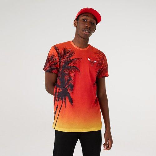 T-shirt imprimé Summer City des Chicago Bulls - newera - Modalova