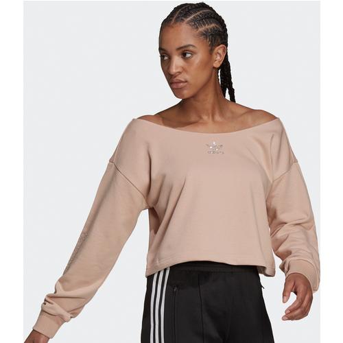 Sweat-shirt 2000 Luxe Slouchy Crew - adidas Originals - Modalova