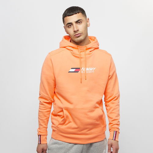 Terry Logo Hoody lumen sun orange - Tommy Hilfiger Sport - Modalova