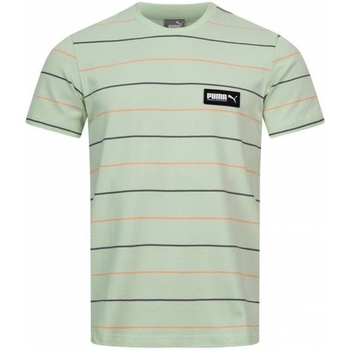 Fusion Striped s T-shirt 582684-32 - Puma - Modalova