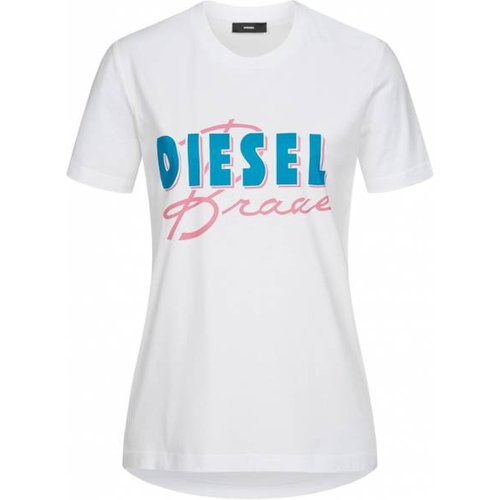 T-Sily-C2 s T-shirt 00SYGW 0LAKY 100 - Diesel - Modalova