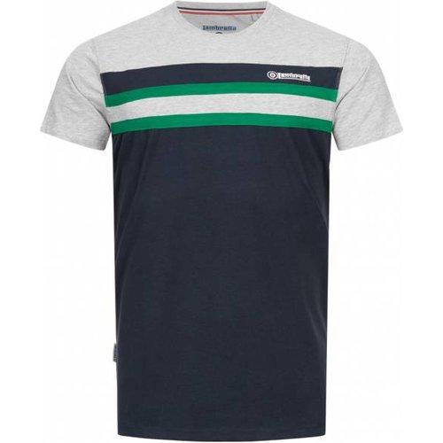 Stripe Stretch s T-shirt SS5293-NV / GR / GRN - Lambretta - Modalova