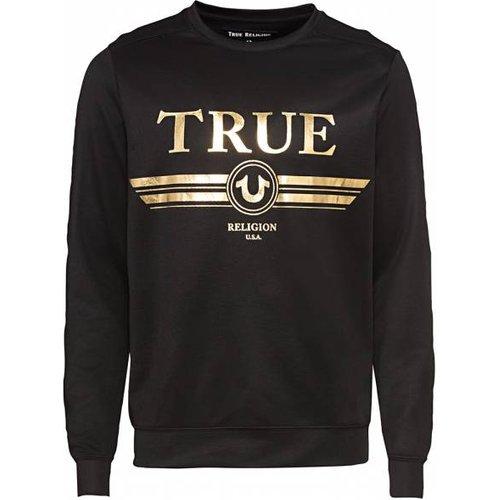 True Retro Crew Neck s Sweat-shirt M19HF53N7G-1001 - True Religion - Modalova