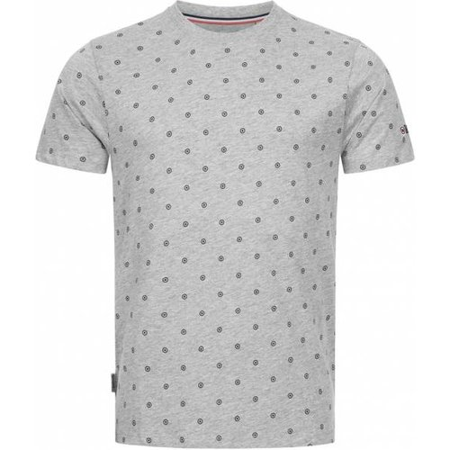 Allover Print s T-shirt EM2603- CHINÉ - Lambretta - Modalova
