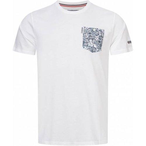 Paisley Pocket s T-shirt SS6277 - Lambretta - Modalova