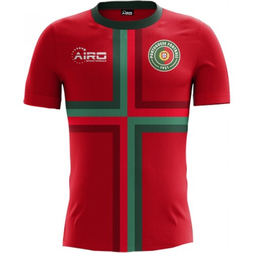Airo Sportswear 2018-2019 Portugal Home Concept Football Shirt - Little Boys