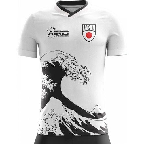 Airo Sportswear 2018-2019 Japan Away Concept Football Shirt - Womens