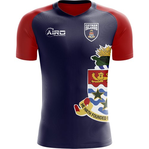 Airo Sportswear 2018-2019 Cayman Islands Home Concept Football Shirt - Kids (Long Sleeve)