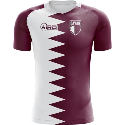 Airo Sportswear 2018-2019 Qatar Home Concept Football Shirt - Kids