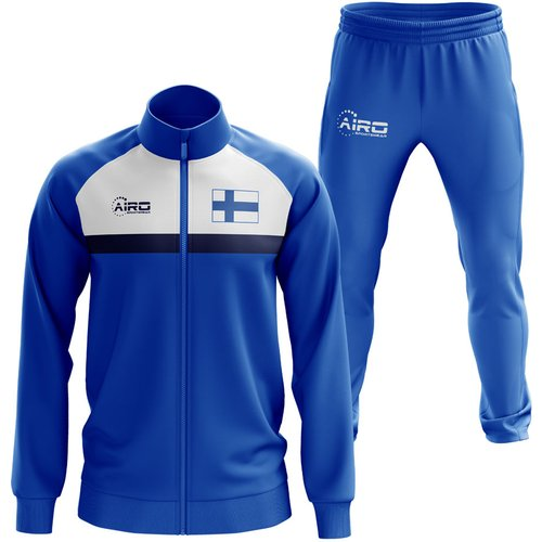 Airo Sportswear Finland Concept Football Tracksuit (Royal)