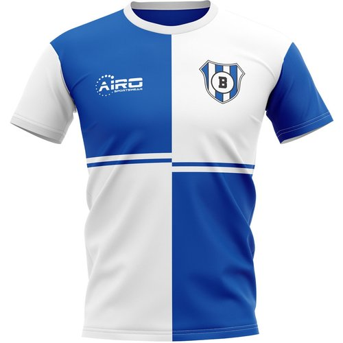 Airo Sportswear 2019-2020 Blackburn Home Concept Football Shirt - Adult Long Sleeve