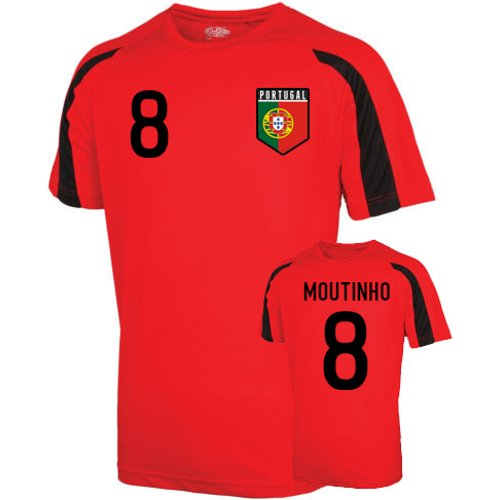 UKSoccershop Portugal Sports Training Jersey (moutinho 8) - Kids