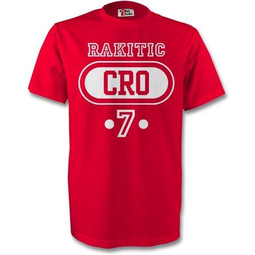Gildan Ivan Rakitic Croatia Cro T-shirt (red)