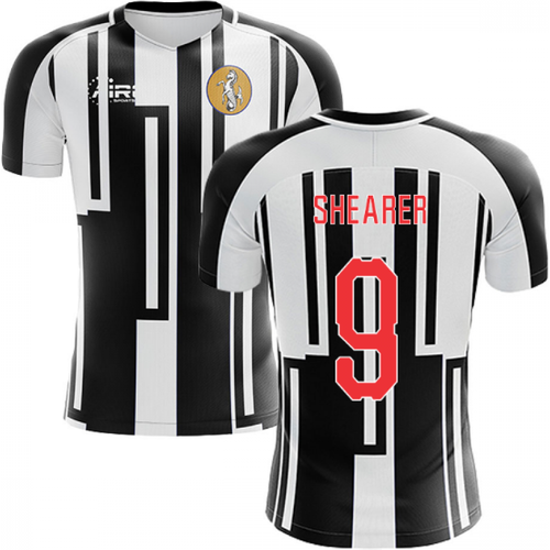 Airo Sportswear 2019-2020 Newcastle Home Concept Football Shirt (SHEARER 9)
