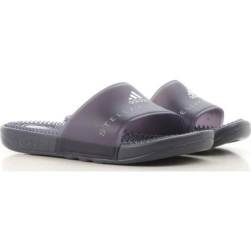 Sandale Pas cher en Soldes Outlet, Stella Mccartney, Noir, Caoutchouc, 2019, 37 38 - Adidas - Modalova
