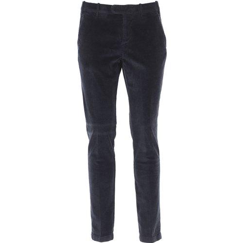 Pantalon Pas cher en Soldes, Marine, Coton, 2019, 46 48 - Eleventy - Modalova