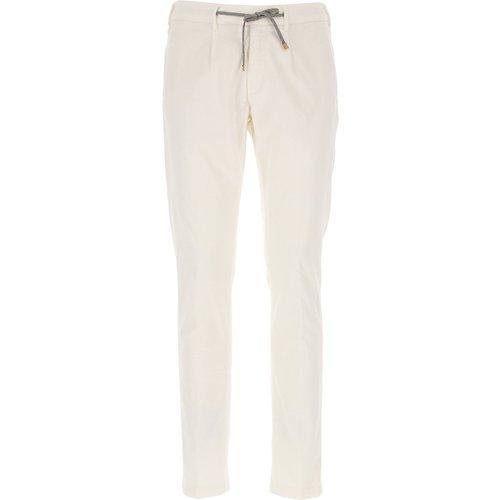 Pantalon Pas cher en Soldes, Ivoire, Coton, 2019, 46 48 50 - Eleventy - Modalova