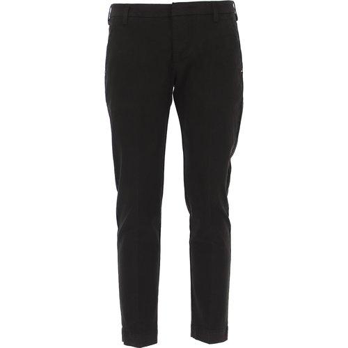 Pantalon Pas cher en Soldes, Noir, Coton, 2019, 46 47 48 50 52 - Entre Amis - Modalova