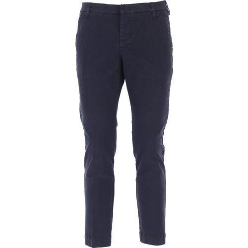 Pantalon Pas cher en Soldes, Marine, Coton, 2019, 47 48 51 52 - Entre Amis - Modalova