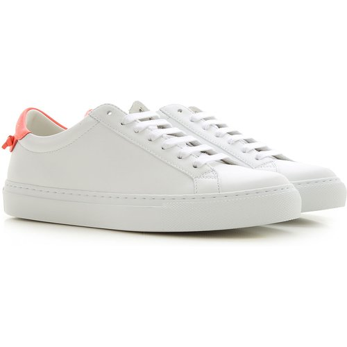 Sneaker Pas cher en Soldes, Blanc, Cuir, 2019, 35.5 36 37 38 - Givenchy - Modalova