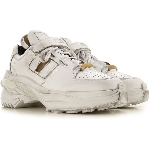 Sneaker , Blanc, Cuir, 2019, 40 45 - maison martin margiela - Modalova