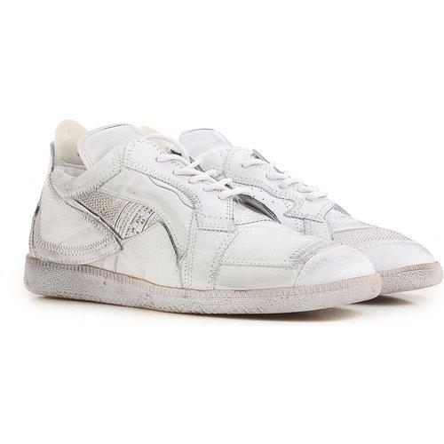 Sneaker Pas cher en Soldes Outlet, Blanc sali, Cuir, 2019, 41.5 42 43 44 - maison martin margiela - Modalova