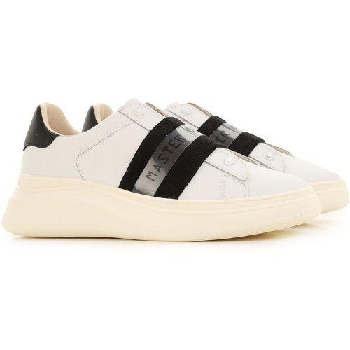 Sneaker Pas cher en Soldes Outlet, Blanc, Cuir, 2019, 36 39 41 - Moa Master of Arts - Modalova