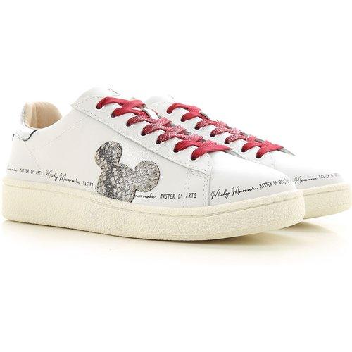 Sneaker Pas cher en Soldes, Blanc, Cuir, 2019, 36 37 40 - Moa Master of Arts - Modalova
