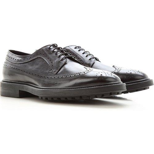 Chaussure à Lacets , Oxfords, Derbies et Richelieu Pas cher en Soldes, Noir, Cuir, 2019, 42 44 - Paul Smith - Modalova