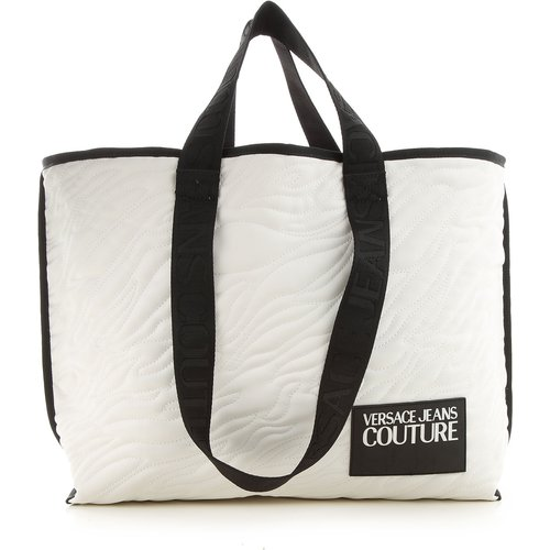 Sac Cabas, Blanc, Polyester, 2019 - Versace Jeans Couture - Modalova