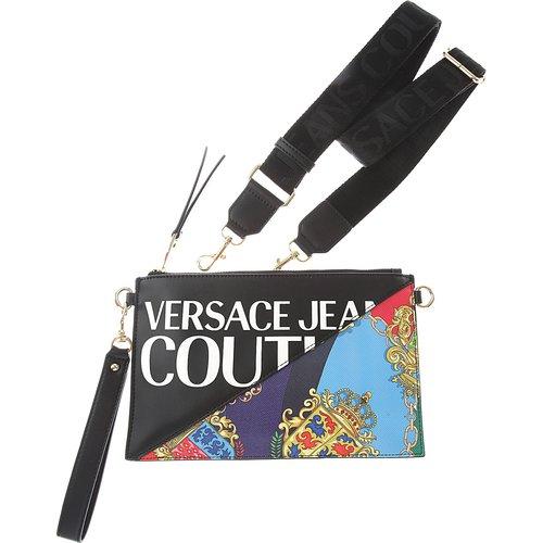 Pochette Clutch Pas cher en Soldes, Noir, 169, 2019 - Versace Jeans Couture - Modalova