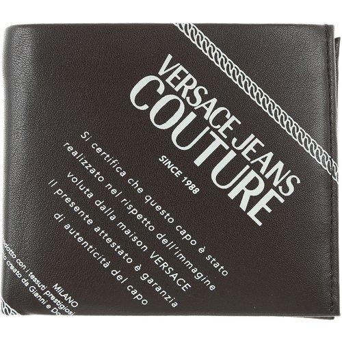 Porte-monnaie , Noir, Cuir, 2019 - Versace Jeans Couture - Modalova