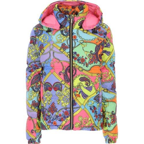Doudoune , Veste de Ski Pas cher en Soldes, Multicolore, Polyester, 2019, 40 44 46 - Versace Jeans Couture - Modalova