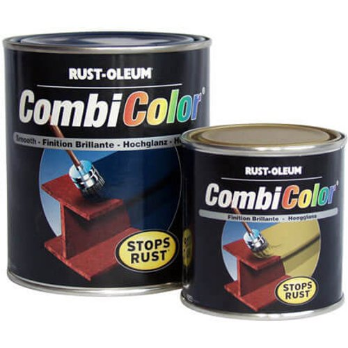 Rust Oleum Rust Oleum CombiColor Wrought Iron Metal Paint Green 750ml