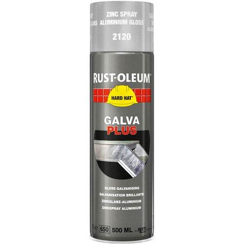 Rust Oleum RUST-OLEUM 2120 Hard Hat Galva Plus, Zinc Gloss Renewal, Aluminium