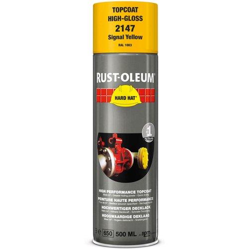 Rust Oleum Rust Oleum Hard Hat Metal Spray Paint Signal Yellow 500ml