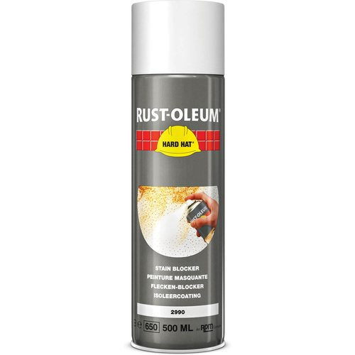 Rust Oleum RUST-OLEUM 2990 Hard Hat Stain Blocker, Make It White Again, Matt white