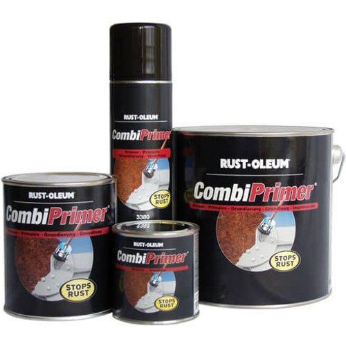 Rust Oleum Rust Oleum CombiPrimer Anti Rust Metal Primer Spray Paint Red 400ml