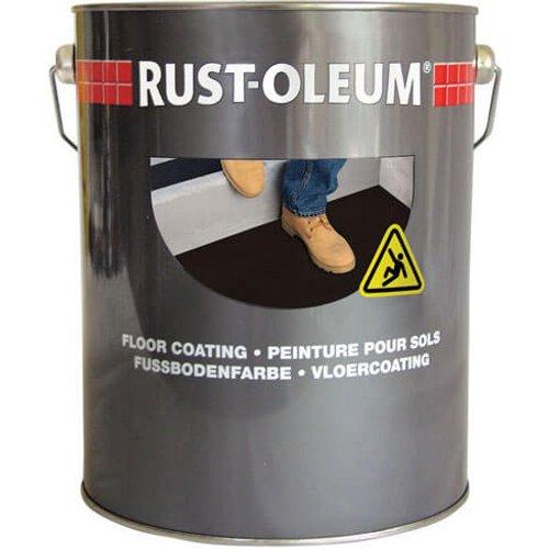 Rust Oleum Rust Oleum Anti Slip Floor Paint Yellow 750ml